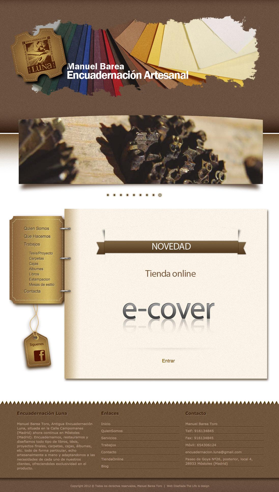 DiseñoWeb Ecover