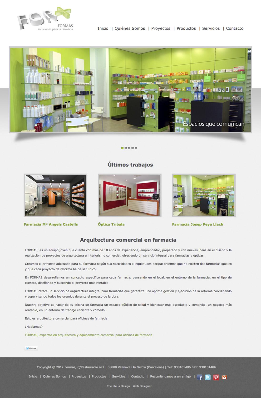 Diseño Web Formas solution