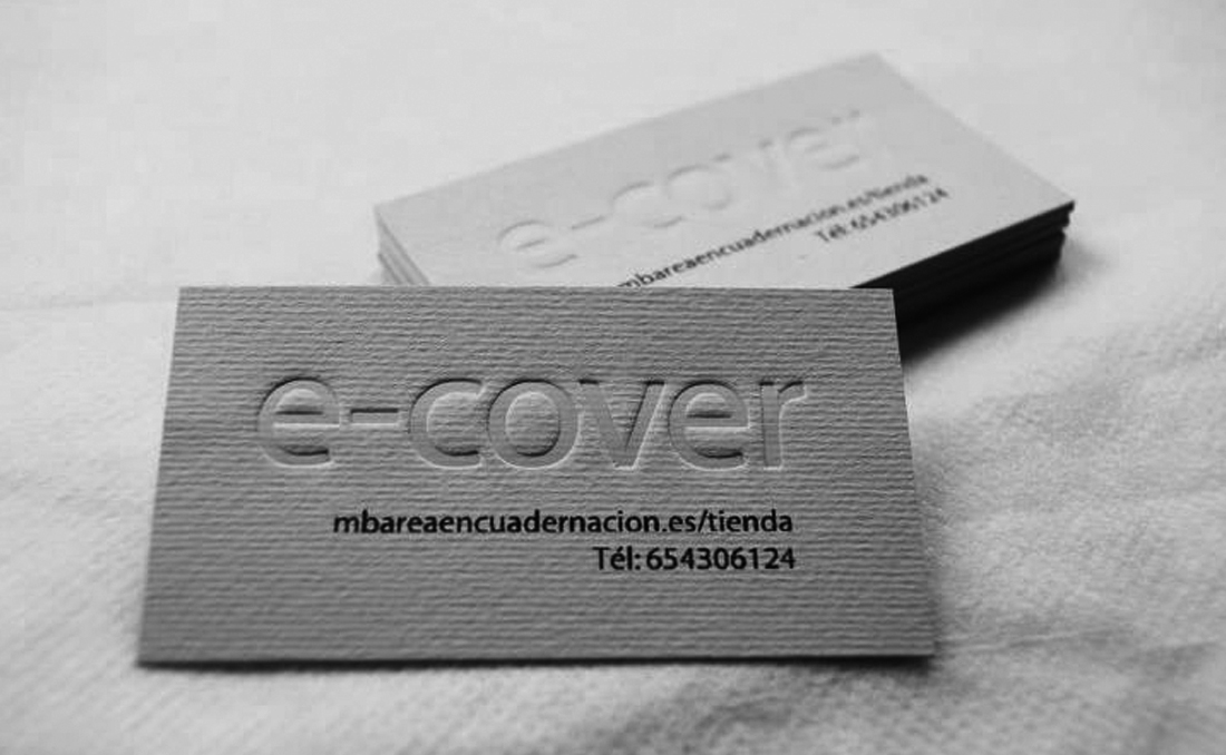 Tarjetas Ecover